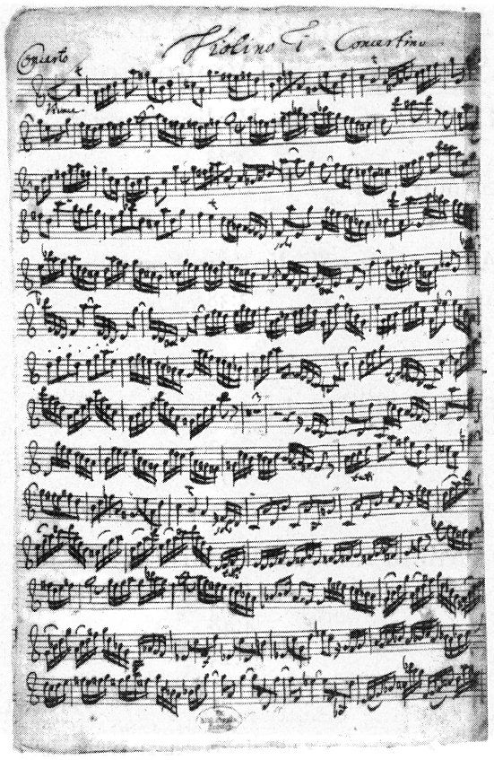 Dave's J.S. Bach Page - Images - Manuscripts